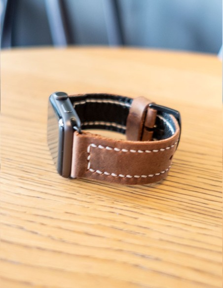 Handmade Leather Apple Watch Band 42mm, 38mm