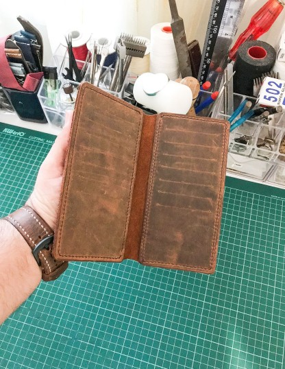 Handmade Leather Phone Cases With Cardholders