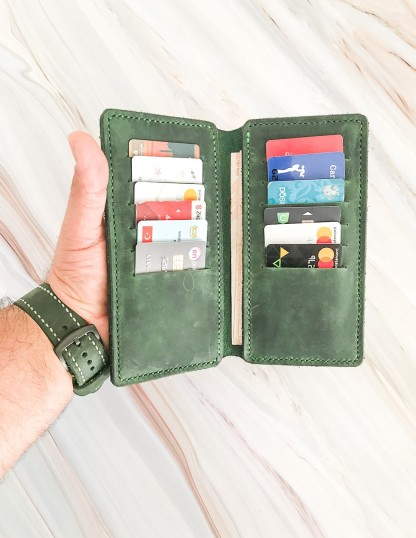Handmade Leather Phone Cases With Cardholder