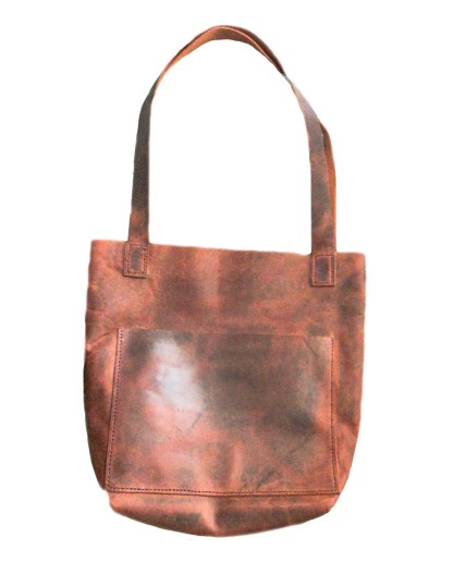Handmade Hand Stitched Leather Women Bag