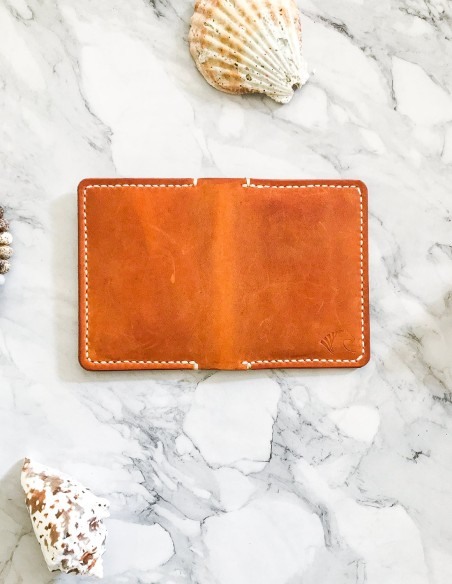 Handmade & Hand Stitched Leather Bifold Wallet