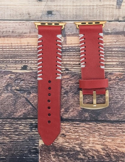 Handmade Leather Iwatch Band